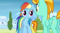 Rainbow and Lightning smiles S3E07