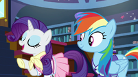 """Rarity """"we know all the same ponies"""" S8E17"""