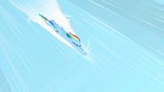 S01E16 Rainbow tuż przed zrobieniem Ponadźwiękowego Bum