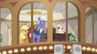 """Applejack """"told us you'd see right through"""" S6E20"""