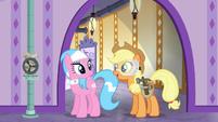 Applejack --ponies won't get so cold-- S6E10