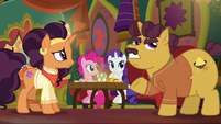 """Coriander """"one look at how empty it was"""" S6E12"""