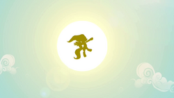 Fluttershy flying to the sun S2E22.png