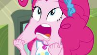 Pinkie Pie pulling on her cheeks CYOE4c
