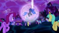 Ponies gather around Princess Luna S5E13