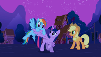 "Rainbow ""Twilight's got wings!"" S3E13"