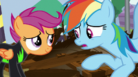 """Rainbow """"nothing cool about making you feel"""" S8E20"""