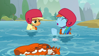 """Rainbow """"there goes our new speed record!"""" S8E9"""