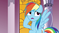 """Rainbow Dash """"how long will all this research take"""" S7E25"""