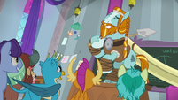 Rockhoof knocks down the projector display S8E21