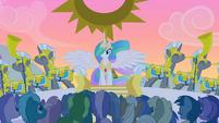 S01E23 Księżniczka Celestia pojawia się
