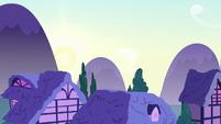 Sun rises over Ponyville S6E11