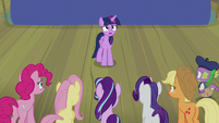 "Twilight ""the laughingstock of Equestria"" S8E7"