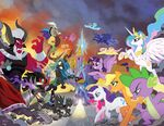 Comic issue 30-31 Hot Topic covers combined by Tony Fleecs