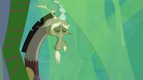 Discord hanging his head in remorse S9E25