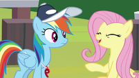 """Fluttershy """"put in a lot of hard work"""" S9E15"""