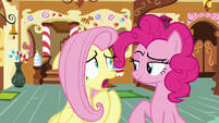 "Fluttershy ""shrimps can attack?"" S8E2"