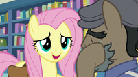 """Fluttershy """"want to talk about what happened?"""" S9E21"""