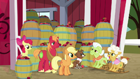 """Goldie """"no wonder you were so tired"""" S9E10"""