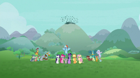 Mane Six, Young Six, and Pillars win the battle S9E25
