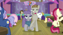 Maud and Mudbriar appear holding hooves S9E16