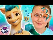 My Little Pony Makeup - New Character Hitch Face Paint - MLP Gen 5 Movie