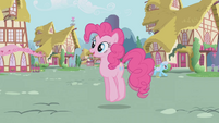 """Pinkie Pie """"this makes my voice sound silly"""" S1E04"""