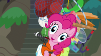 Pinkie Pie --you can shake a stick at-- S6E22