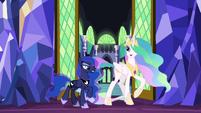 "Princess Celestia ""a strategy meeting!"" S9E13"