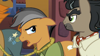 Quibble --this isn't the official Daring Do Experience-- S6E13