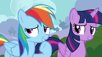 """Rainbow """"not that I won't be totally awesome"""" S4E16"""