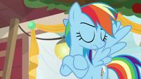 Rainbow crosses her hooves in insult BGES1