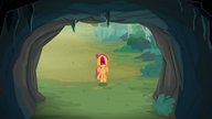 S07E16 Scootaloo boi się strasznej jaskini