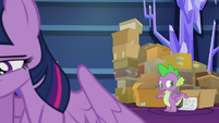 """Spike """"hadn't thought about it like that"""" S9E26"""