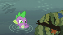 Spike happy to see his friends S6E5