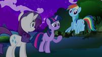 Twilight Rainbow Dash Rarity S2E21