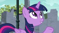 "Twilight Sparkle ""if I had to guess"" S9E3"