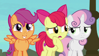 """Apple Bloom """"can I ask now?"""" S8E6"""