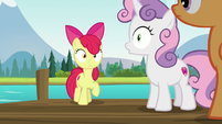 Cutie Mark Crusaders hear rumble in the sky S7E21