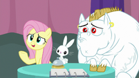 """Fluttershy """"is the answer carrots?"""" S9E16"""