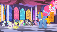 May Ball disgruntled by Pinkie S1E26