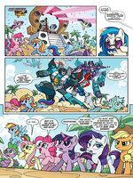 My Little Pony Transformers II issue 1 page 3
