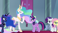 """Princess Celetia """"you will be a great leader"""" S9E2"""