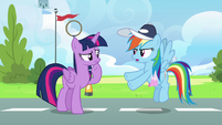 """Rainbow Dash """"that could be trouble too"""" S6E24"""