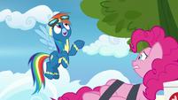 """Rainbow Dash """"the pie was delicious!"""" S7E23"""