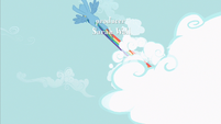 Rainbow Dash cool streak S2E8