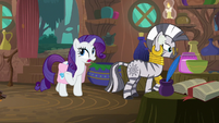 Rarity -I was sewing phoenix feathers- S8E11