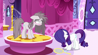 Rarity hanging her head in defeat S8E18