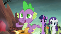 Spike --this dragon does-- S6E5