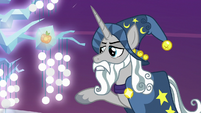 Star Swirl looks at image of the Tree of Harmony S7E26